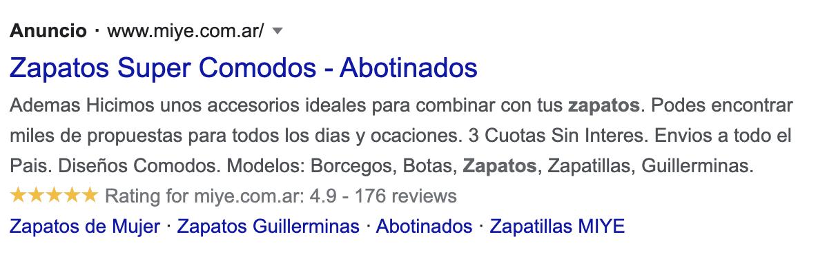 anuncios de busqueda google ads