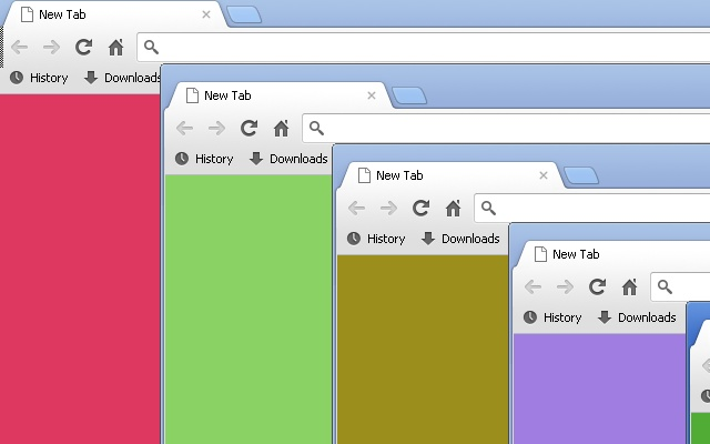 how to change color of tab chrome