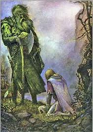 Image result for bertilak as the green knight