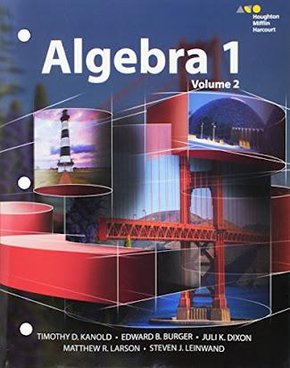 X209 Book] Free PDF HMH Algebra 1: Interactive Student