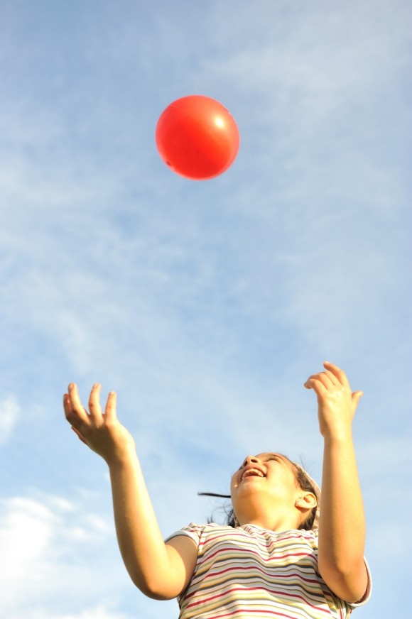 What goes up must come down… right? Ball image via www.shutterstock.com