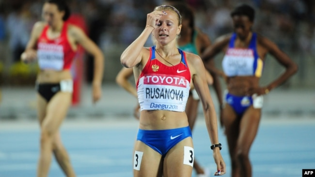 Юлия Русанова (Степанова) в 2011 году