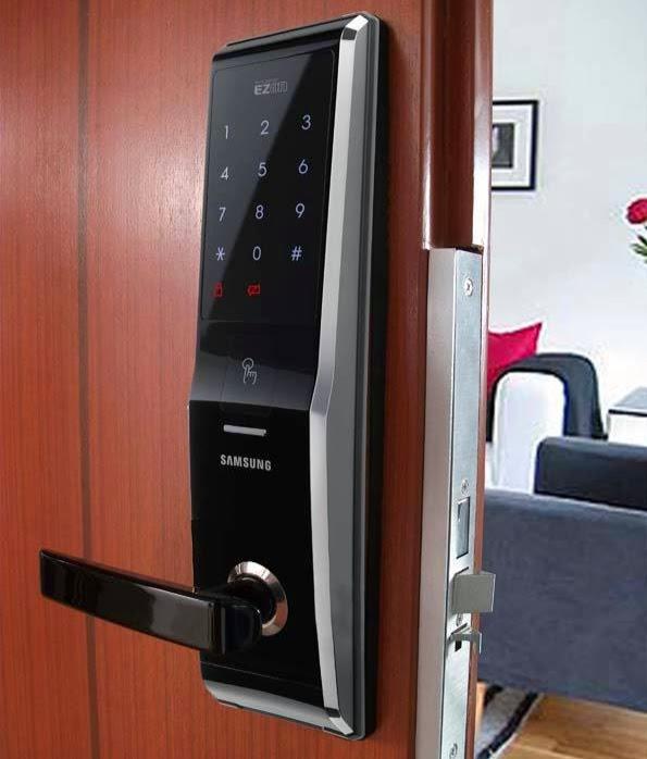 Gateman And Samsung Fingerprint Keyless Digital Lock In