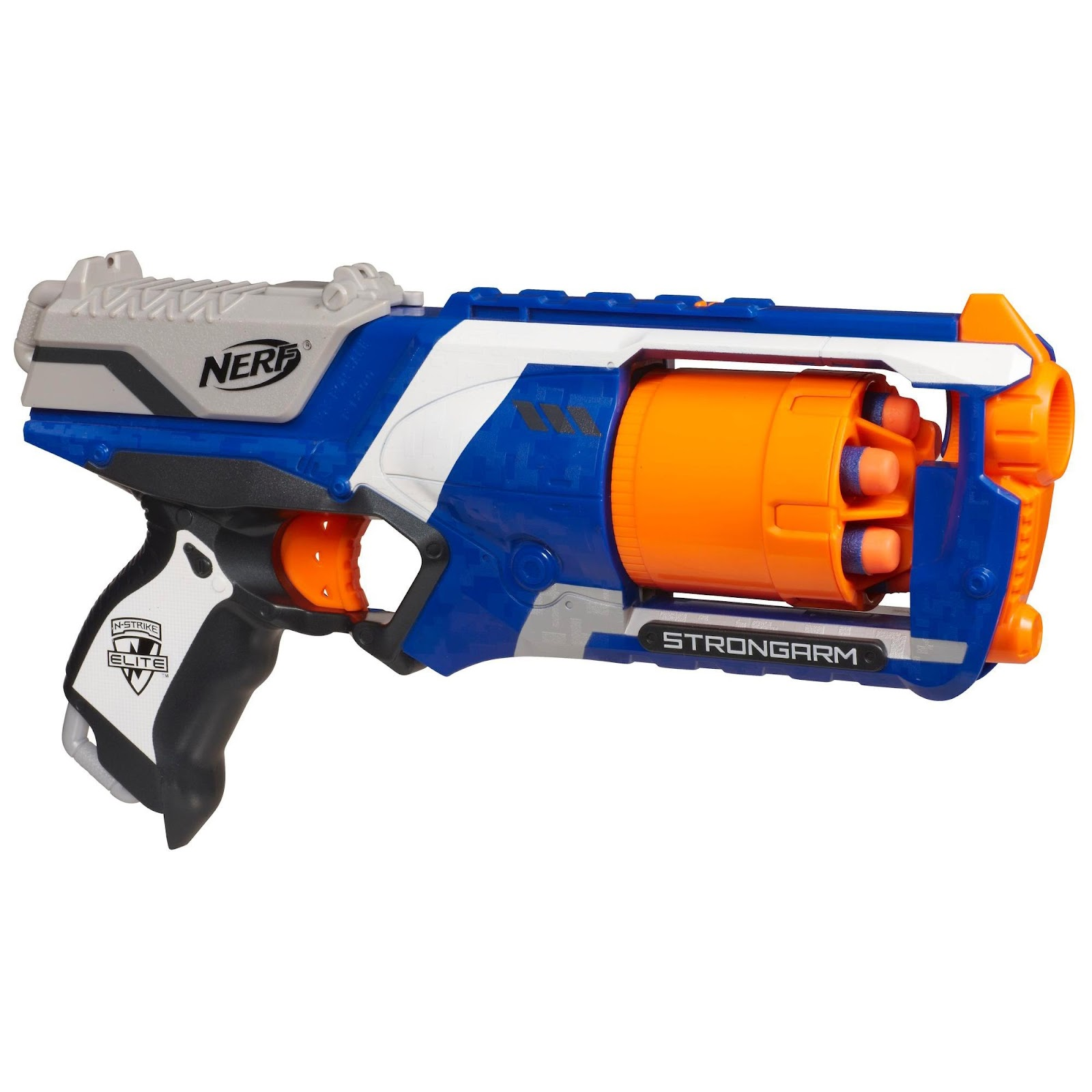 review da nerf elite strongarm