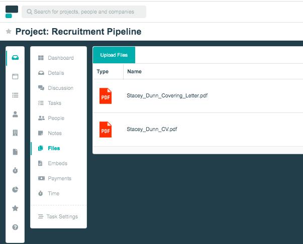 Project.co recruitment pipeline