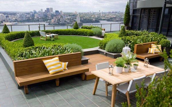 Tham quan những mẫu sân vườn nhỏ khác để tìm kiếm nguồn cảm hứng thiết kế