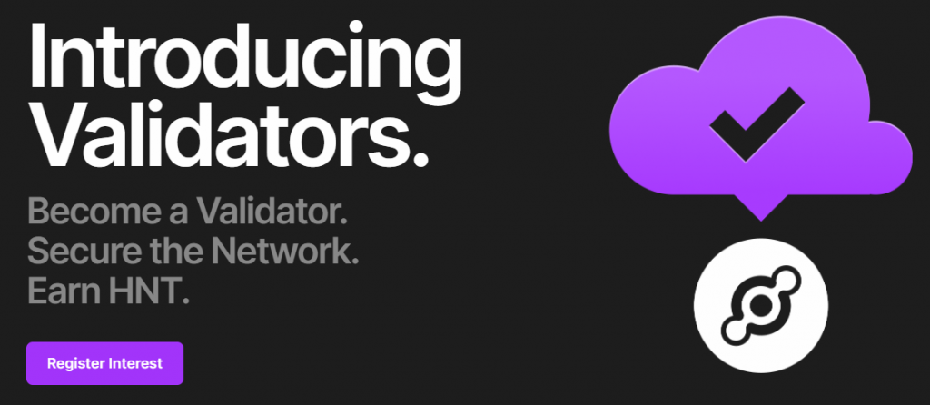 Blog Helium validator