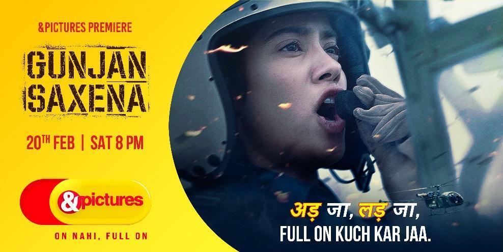 &pictures television premiere of Gunjan Saxena: The Kargil Girl