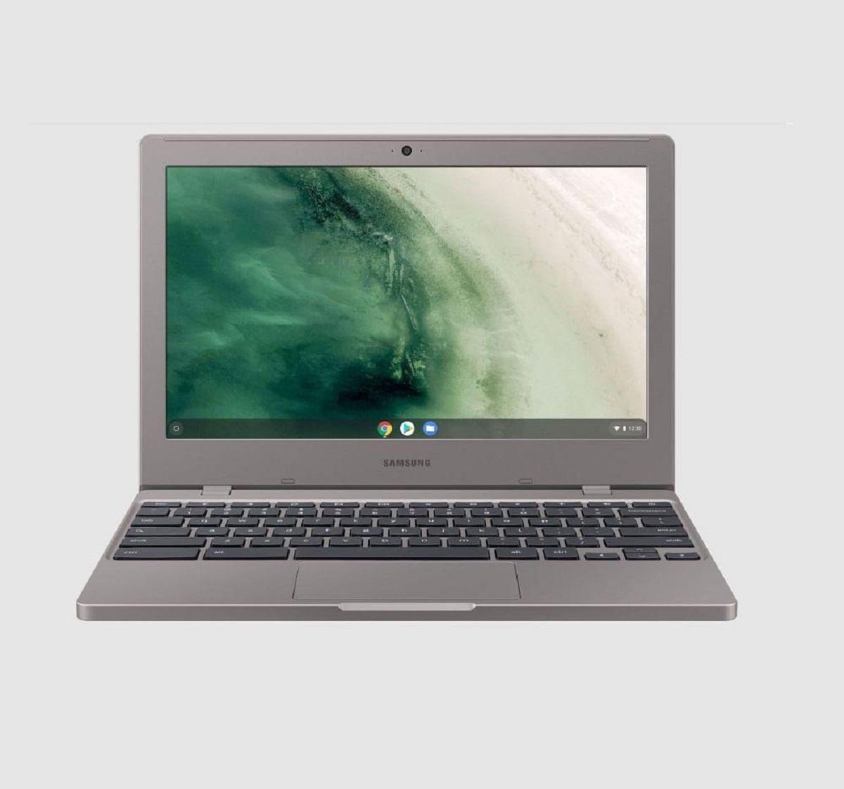 Imagem de notebook barato da marca Samsung Chromebook 4