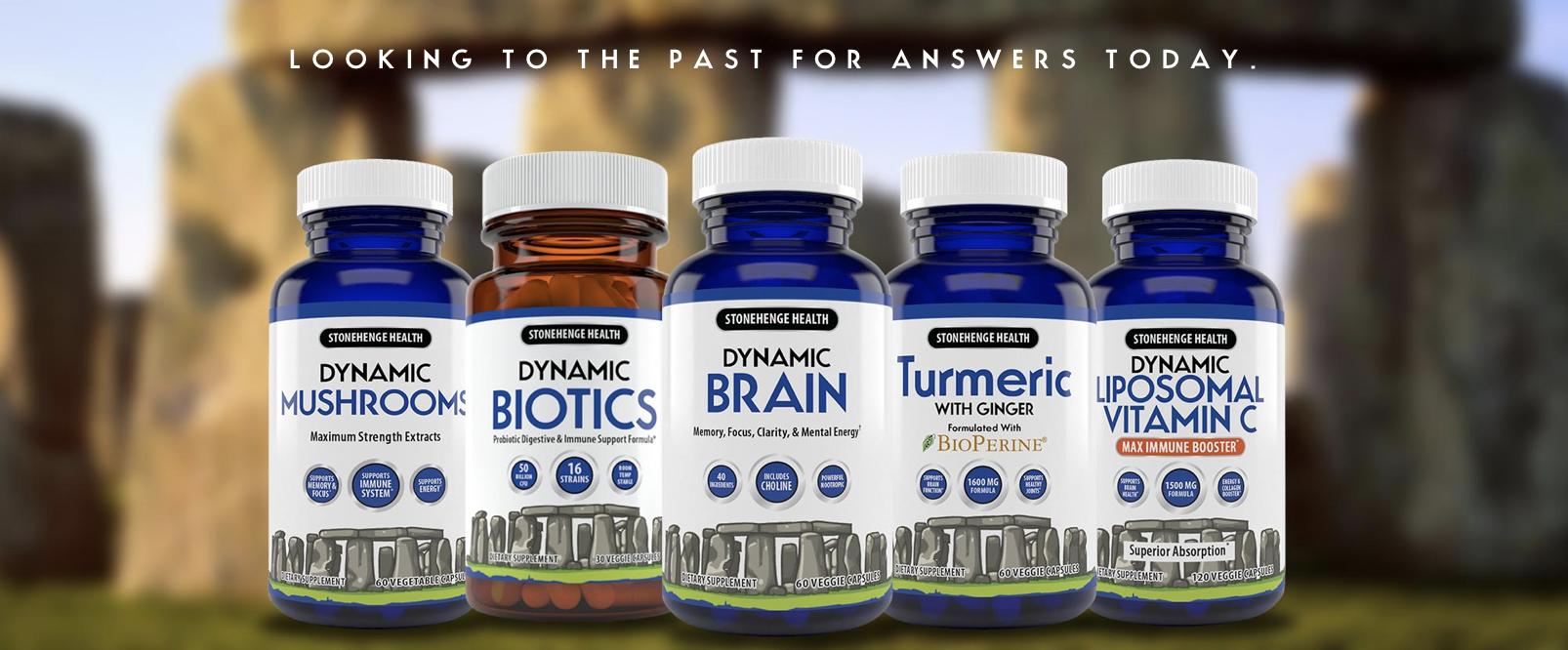 Stonehenge Health | Dynamic Wellness Products