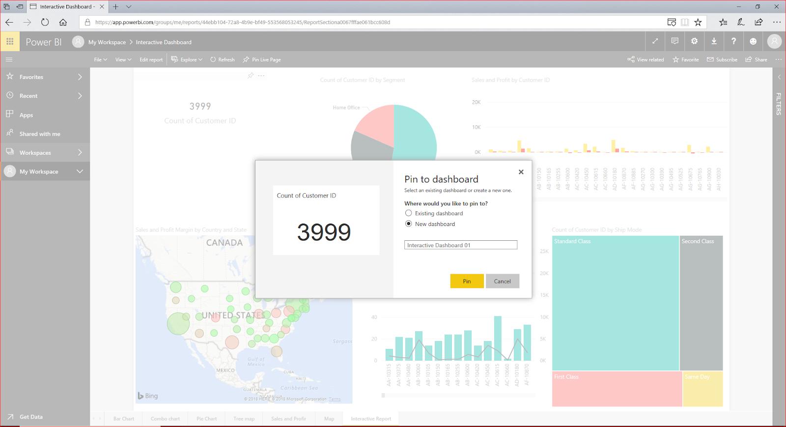 Interactive Dashboard In Microsoft Power BI 74