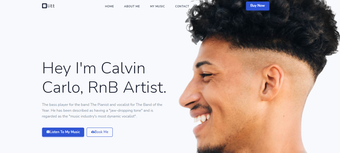 free artist website to promote music