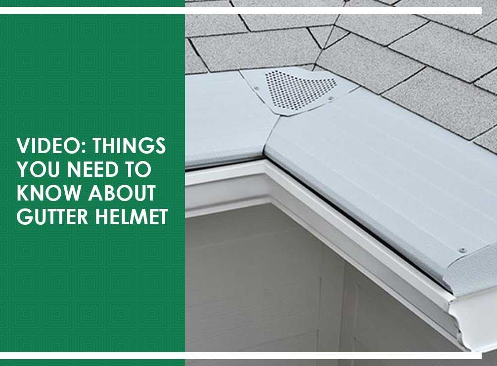 Know about Gutter Helmet