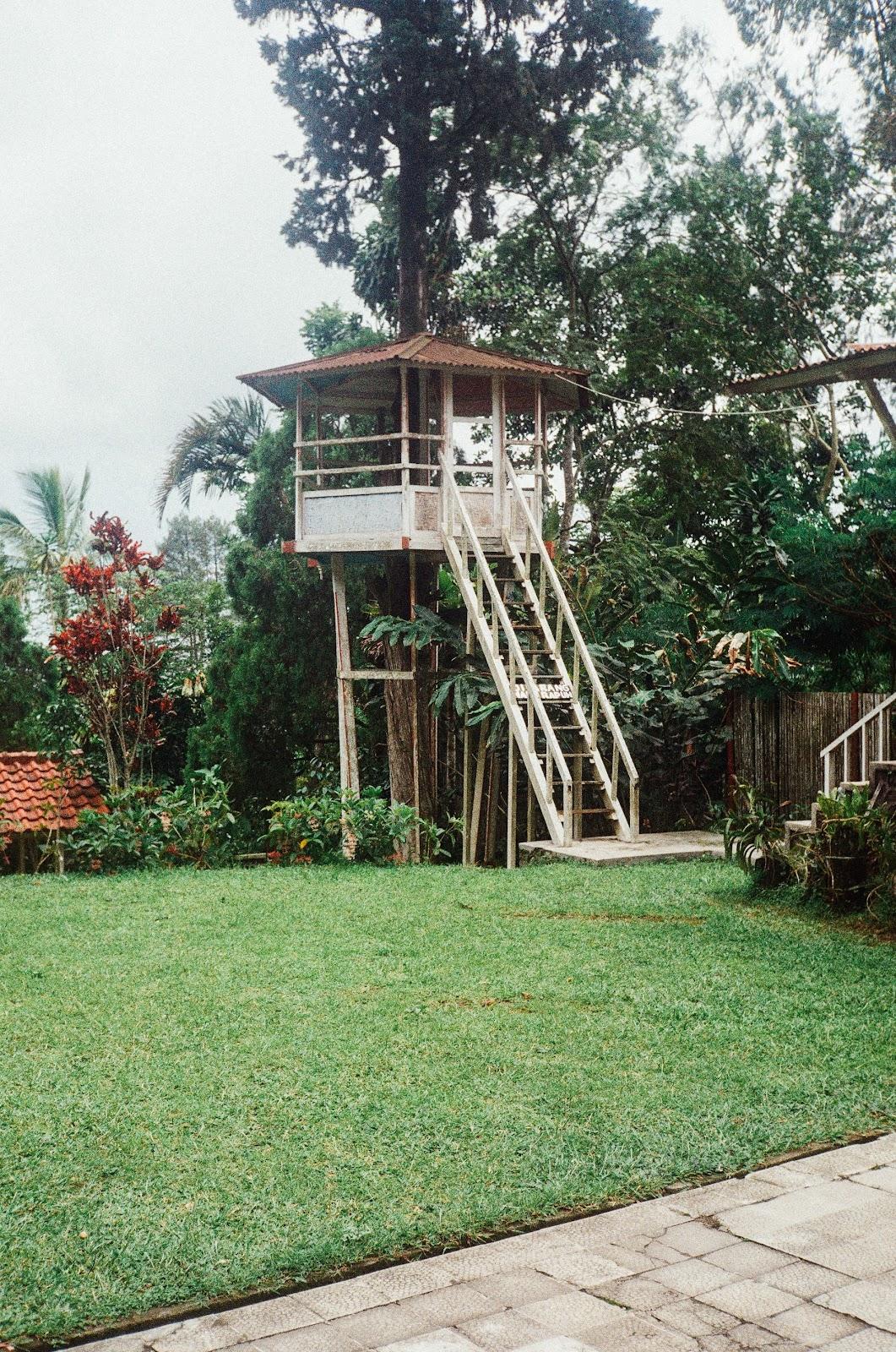 floating gazebo treehouse