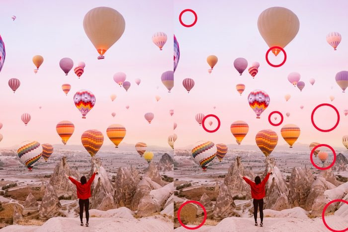 Spot the difference: Hot Air Balloon Festival answer