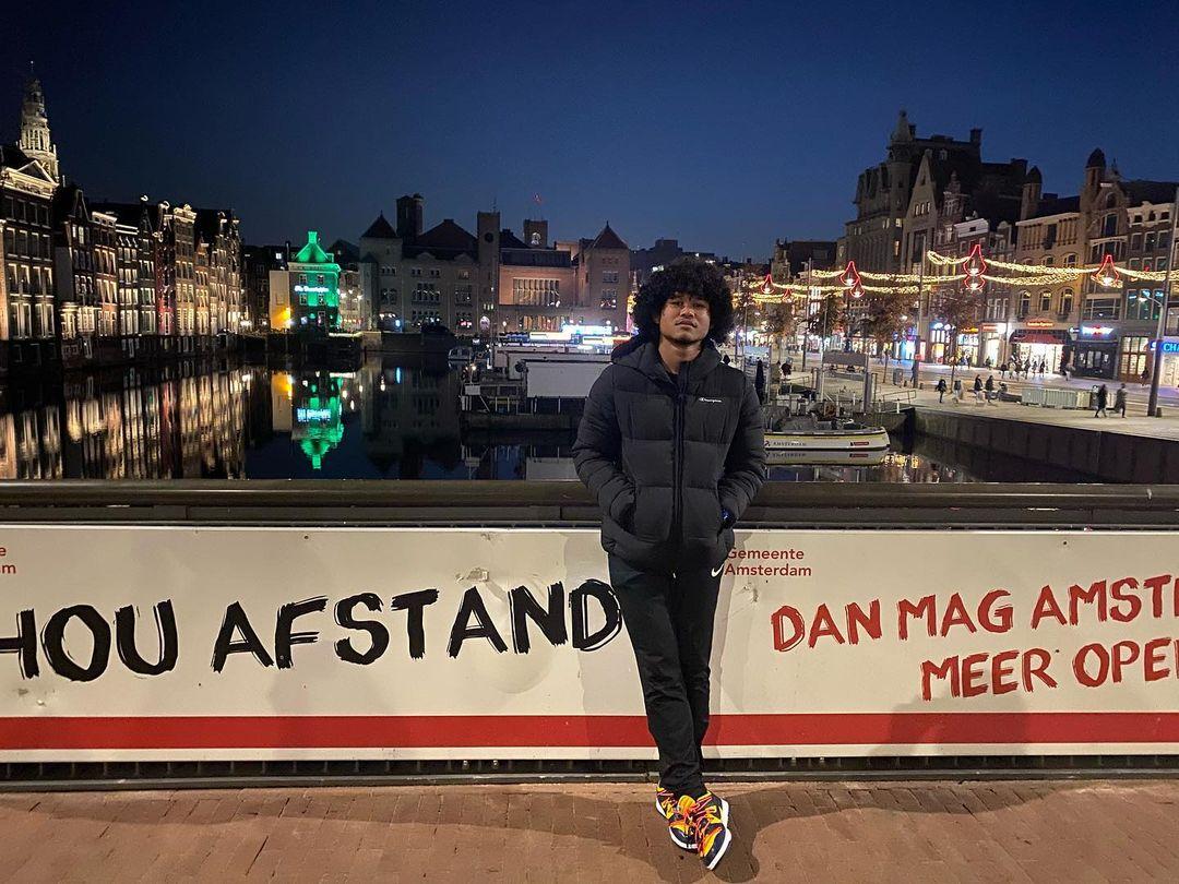Bagus Kahfi di Amsterdam