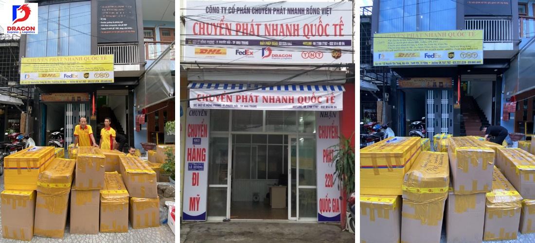 Dragon Express cũng có chi nhánh tại các thành phố như Nha Trang, Cần Thơ, Đà Nẵng,...