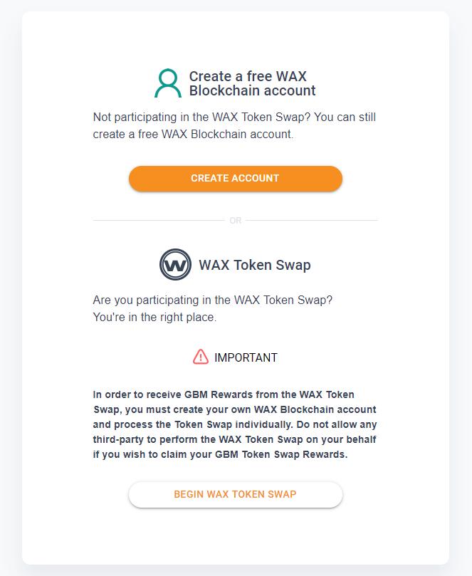 Create WAX Blockchain Account