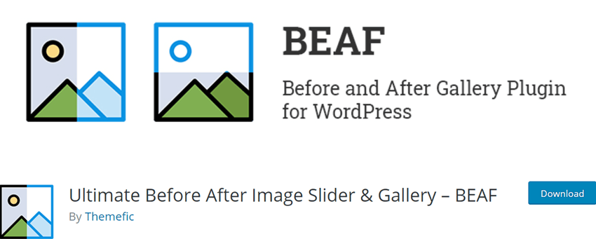 Beaf - Before and After Gallery Plugin