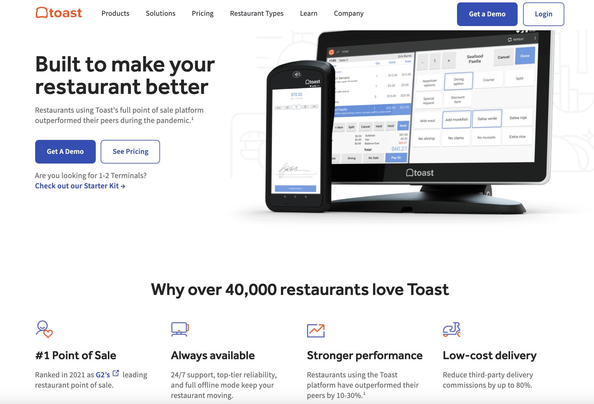 Restaurant SaaS Platform