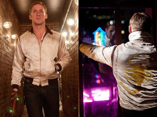 Ryan Gosling Bomber Jacket en Drive