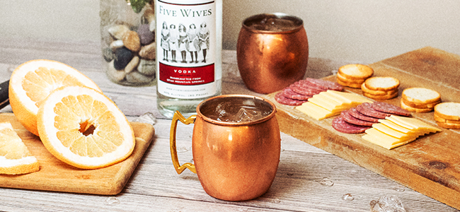 Five Greyhounds, An Easy Copper Mug Cocktail Recipe
