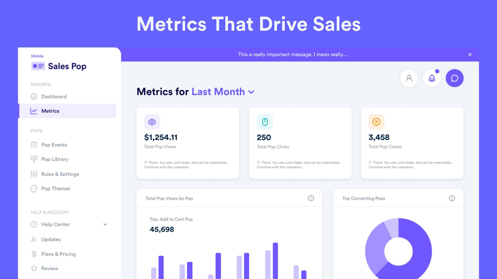 Metrics That Drive Sales