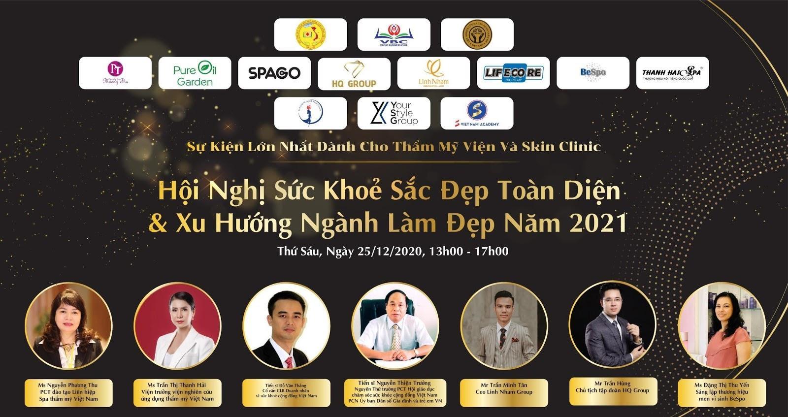 Công ty Cổ phần Shaha Việt Nam - Nhà tài trợ đồng cho Hội nghị sức khỏe sắc đẹp toàn diện và xu hướng ngành làm đẹp 2021 - Ảnh 9