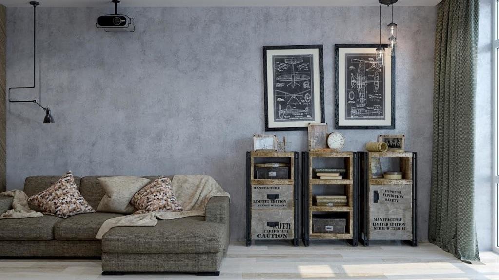 Sơn tường bê tông – sơn hiện đại mang đến vẻ đẹp cuốn hút cho mọi nhà