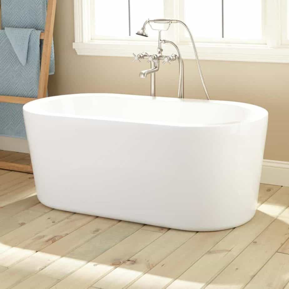 boone acrylic freestanding tub