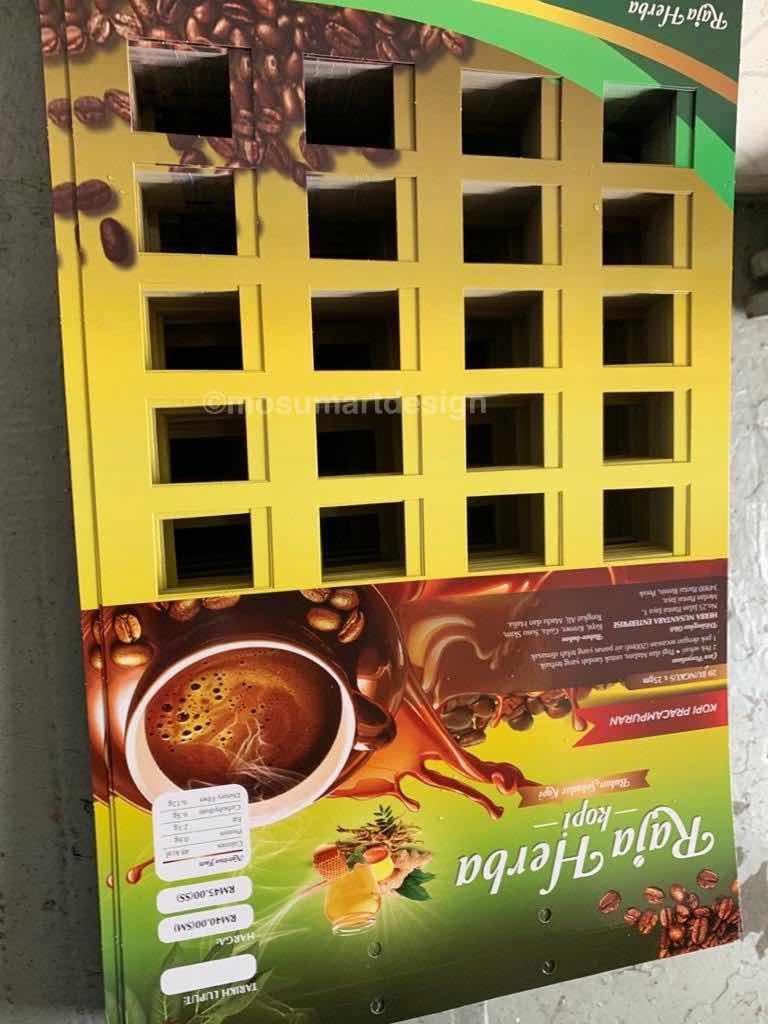 papan kopi gantung