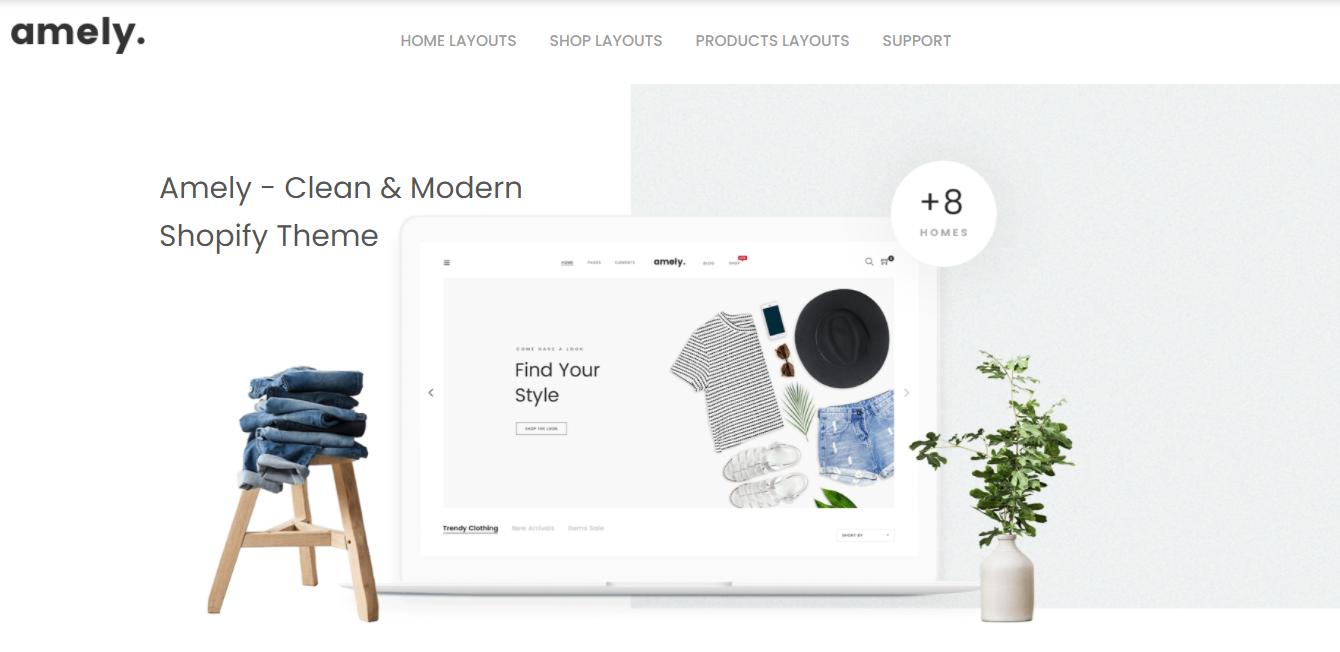 Amely - premium Shopify theme