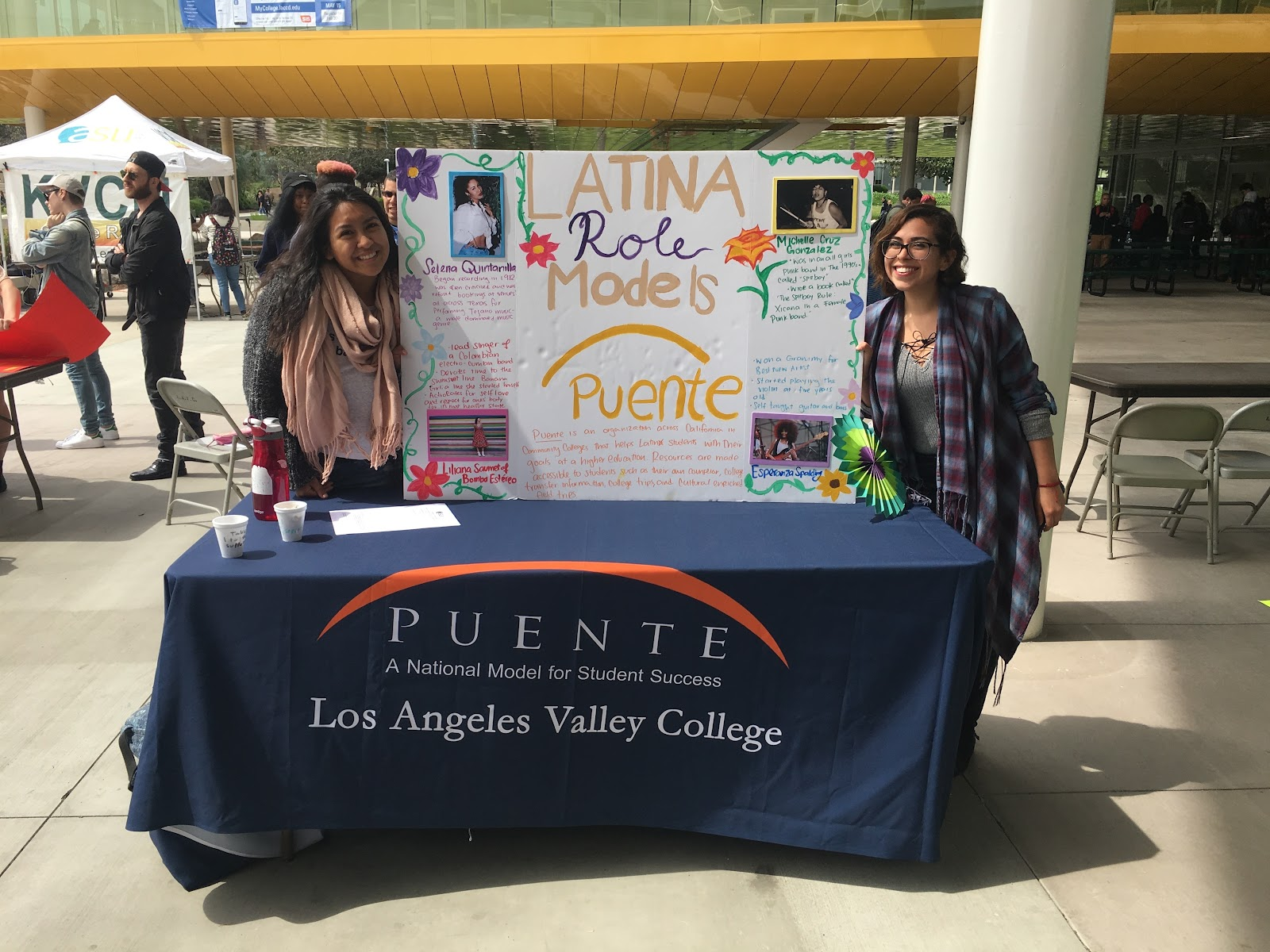 Puente students at LAVC Club Day