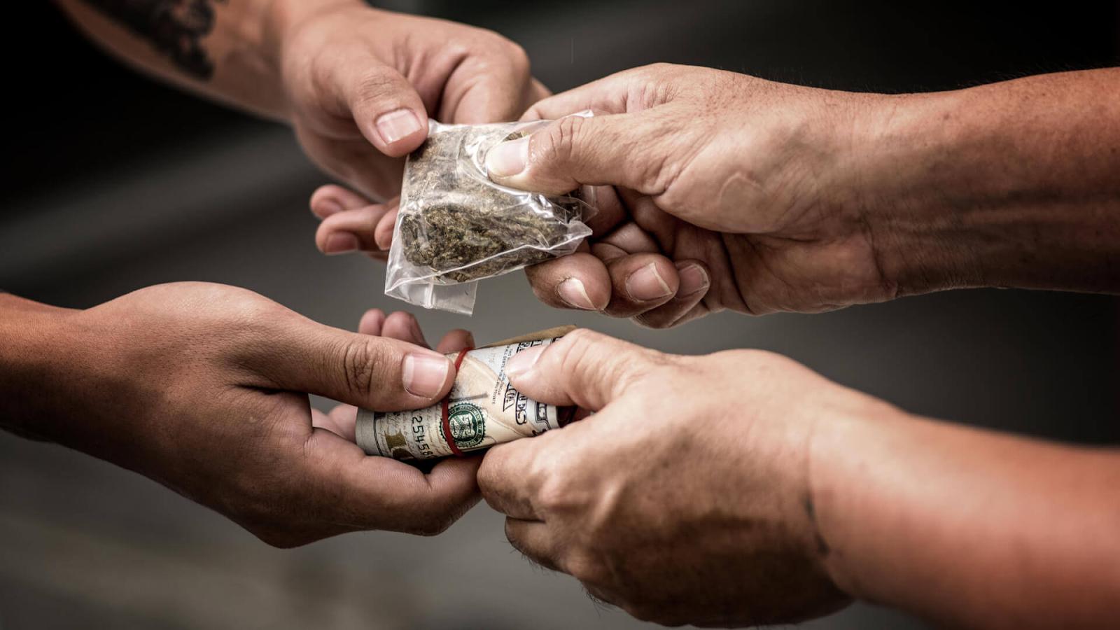 Illegal drug deal