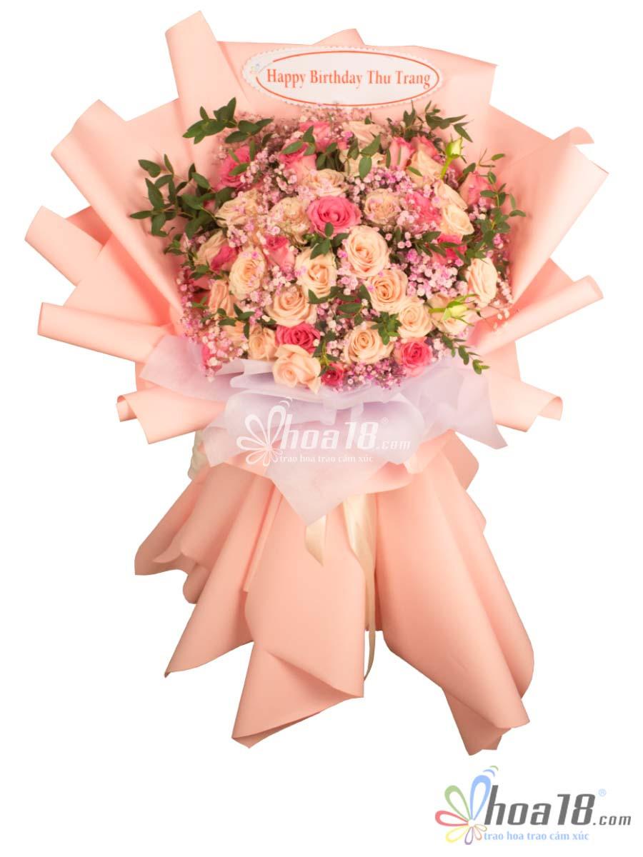 bó hoa hồng to đẹp