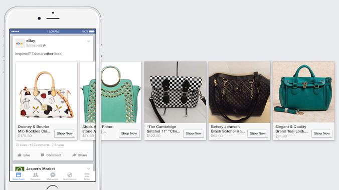 Ebay retargets customers with ads