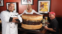 Largest available hamburger.