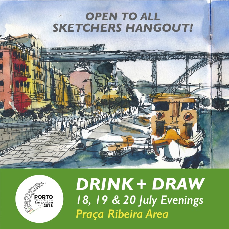USk Symposium Porto 2018   Urban Sketchers