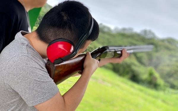 飛靶打靶體驗-林口頂福靶場