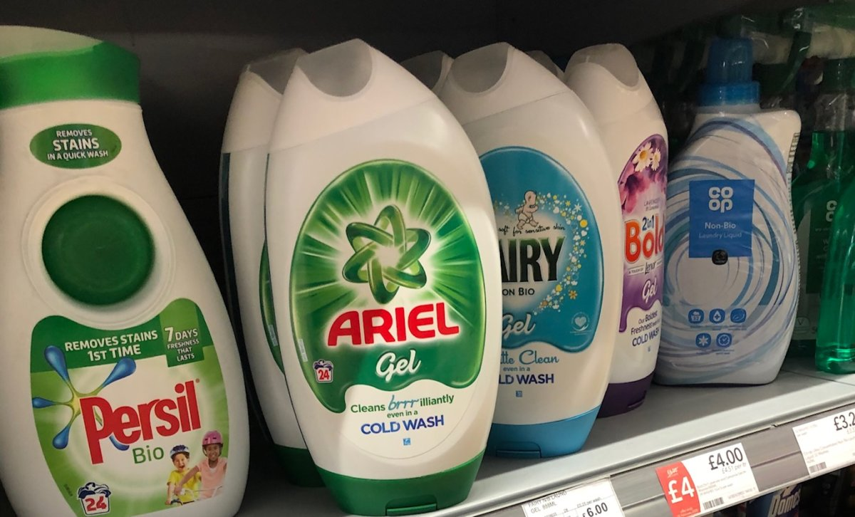 Vloeibaar wasmiddel