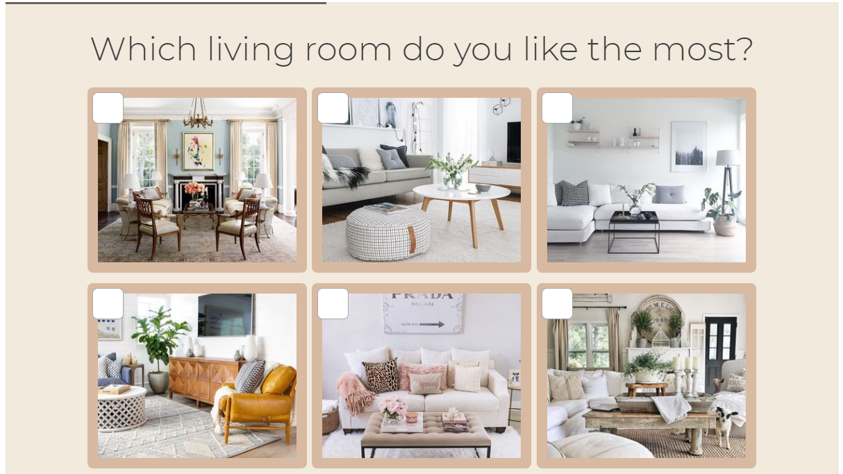 which living room do you like the most quiz question with images