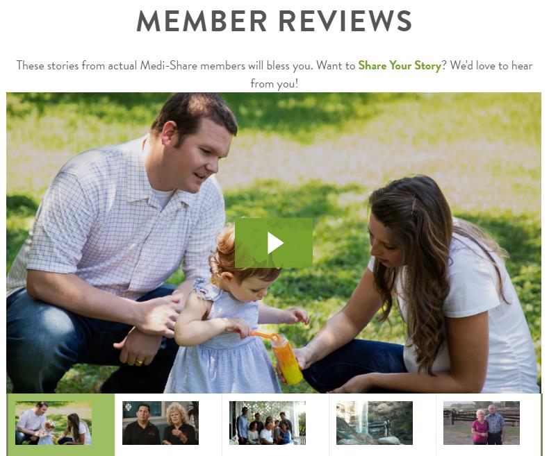 Bewertungen von Medishare von früheren und aktuellen Mitgliedern sind auf ihrer Website verfügbar.