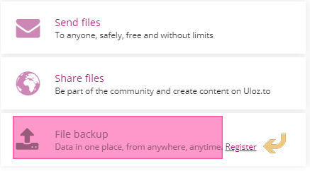 Uloz File Sharing & File Storage