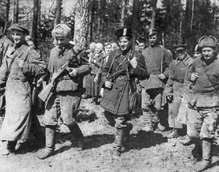 Военные преступления советских партизан в Белоруссии, Прибалтике и Финляндии