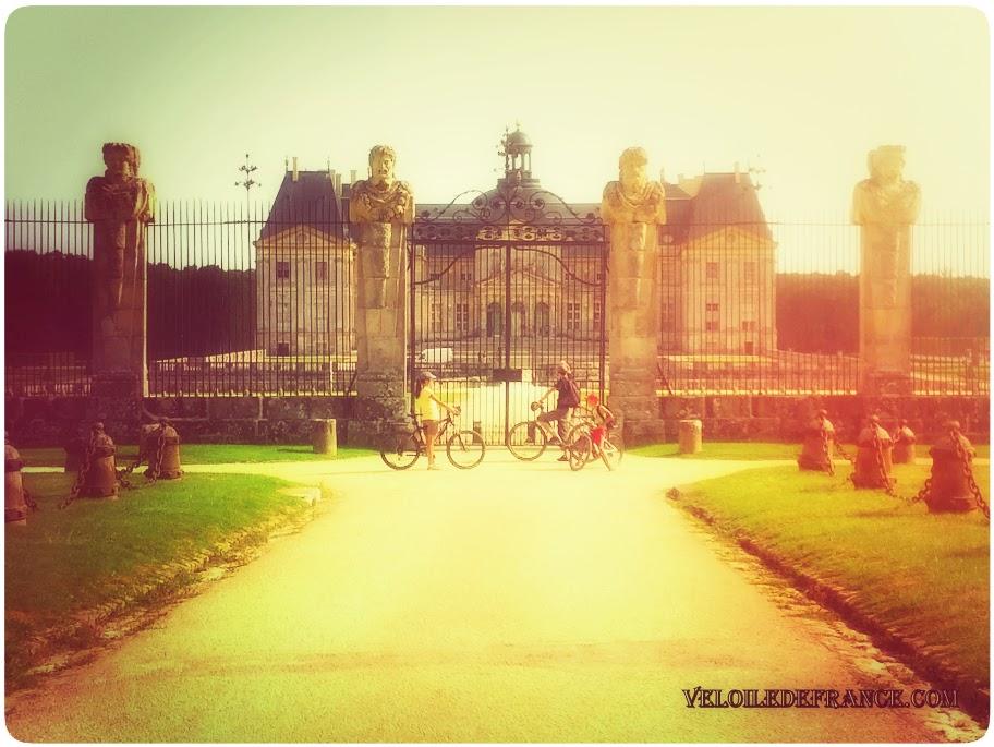 Château de Vaux-le-Vicomte - e-guide circuit balade à vélo vers Vaux-le-Vicomte par veloiledefrance.com