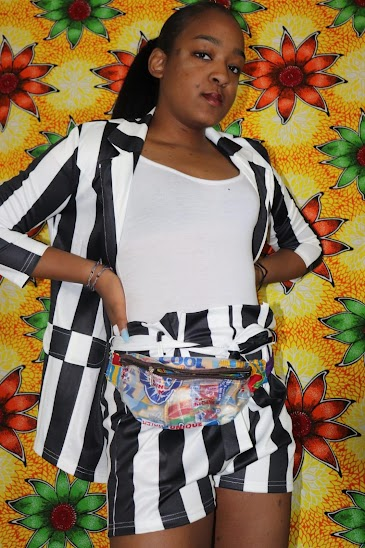 Fanny Pack modeled by Daisha Smith, photographed by Agbobly-Atayi Ayikoe Achille