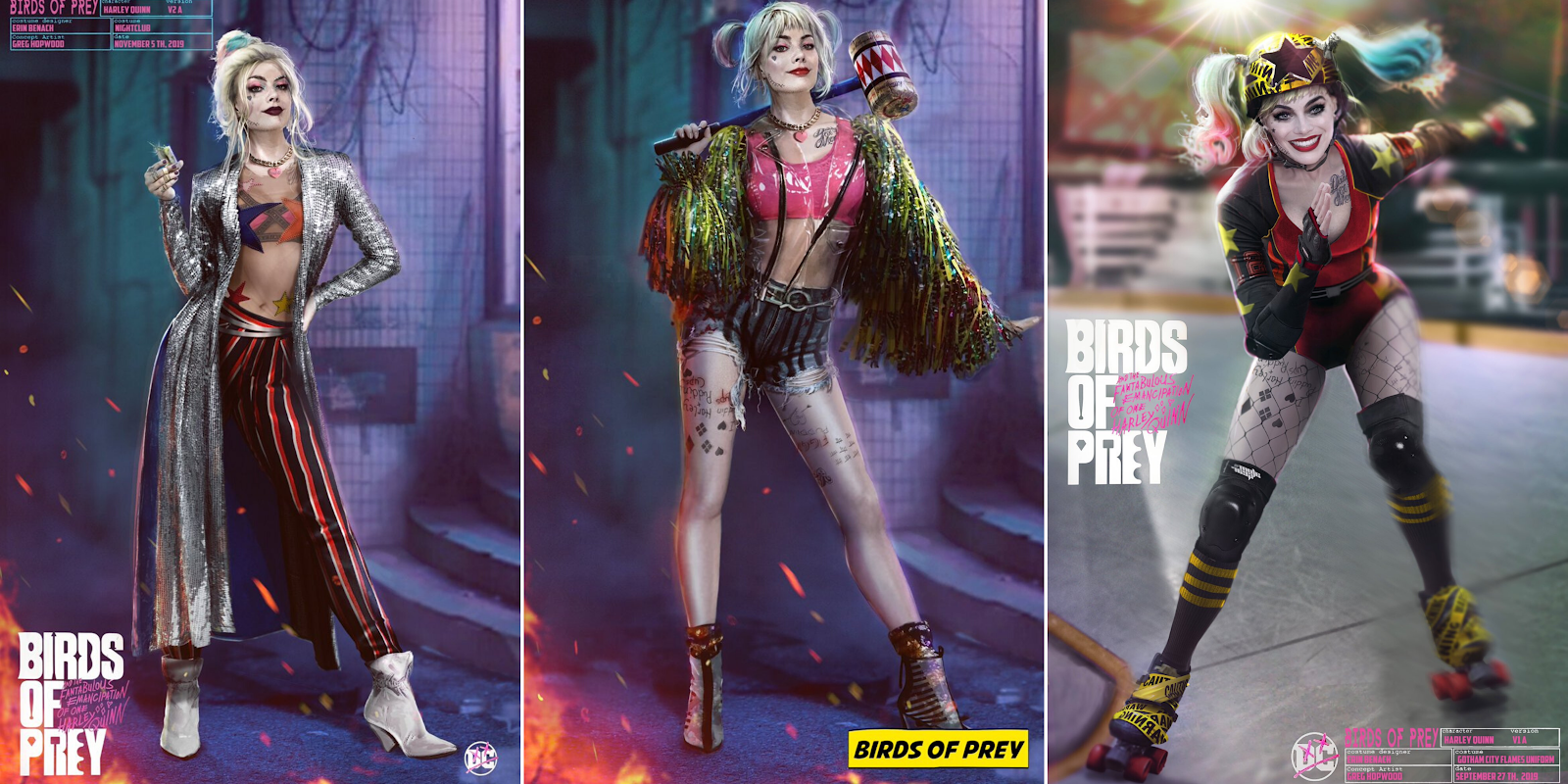 In Defence Of Harley Quinn S Fantabulous Costumes In Birds Of Prey Screen Queens
