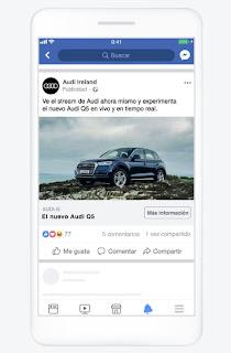 Formato de imagen de Facebook Ads
