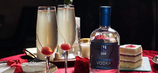 A Flirtatious Valentine's Day Cocktail
