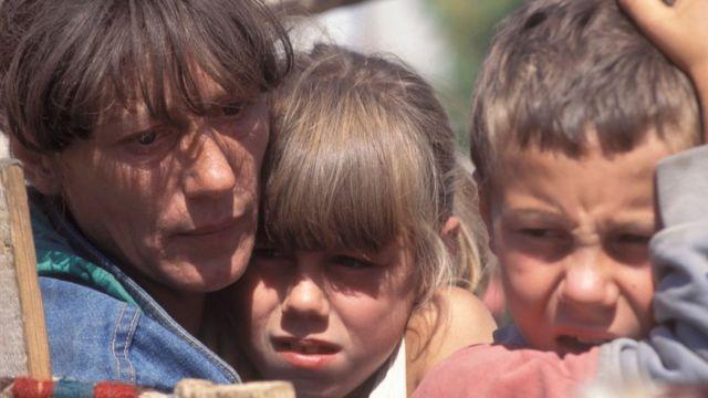 """Во время операции """"Буря"""" 150-200 тысяч сербов, опасаясь расправы, бежали из самопровозглашённой Республики Сербской в Хорватию"""